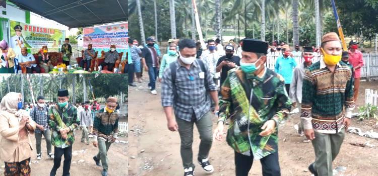 Kunjungi Desa Bina Jaya Bupati Gorontalo Nelson Pomalingo Terima Aspirasi Dari Masyarakat Terpencil