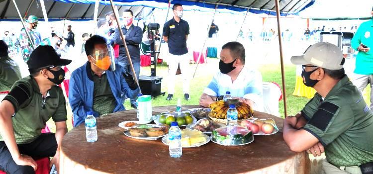 Lomba Menembak Eksekutif Dilapangan Tembak Pattimura Makorem