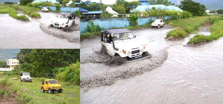Gubernur Gorontalo Bersama IOF Uji Coba Sirkuit Menantang