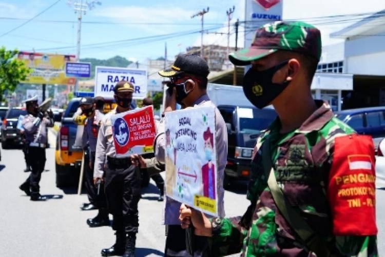 Polda Gorontalo Gelar Operasi Yustisi Gabungan, Tidak Patuh Langsung Kena Sanksi
