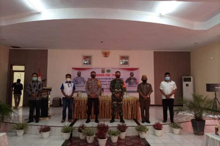 Kapolda Gorontalo Ajak Forkopimda dan Warga Pohuwato Sukseskan Pilkada Dengan Disiplin Protokol Kesehatan