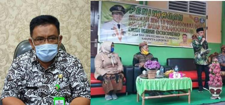 Aspirasi Masyarakat Dan Kades Bina Jaya Direspon Kadis Dikbud Kabupaten Gorontalo