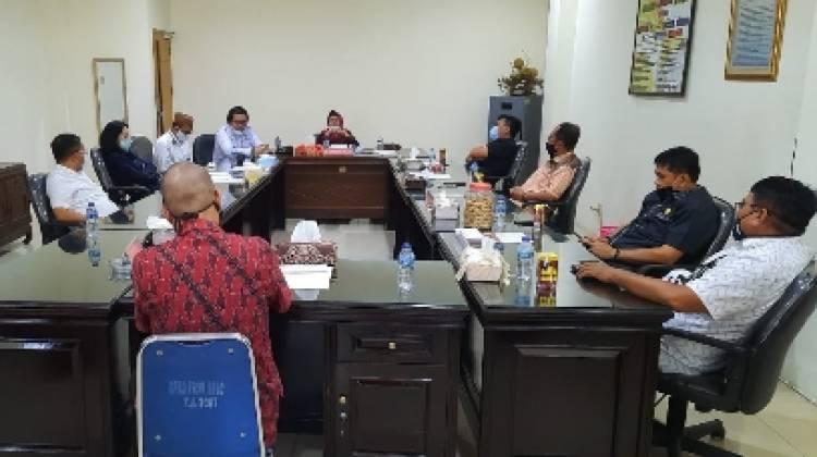 Terima Konsultasi Banggar Dekab Boalemo, Espin: Soal Dana Proyek Untuk TKD dan Honor PTT
