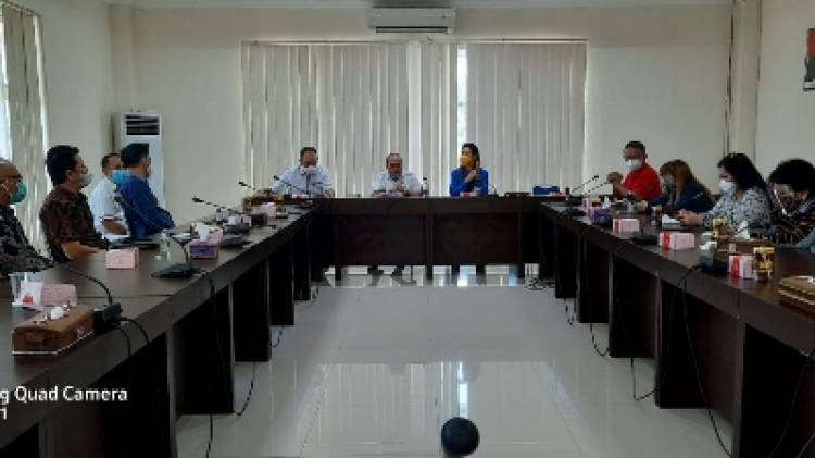 Adhan Terima Studi Komparasi Komisi I DPRD Sulut, Sharing Seleksi Anggota KPID