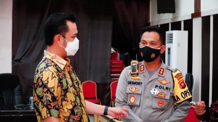 Kapolres Gorontalo Kota : Kami Dukung Kebijakan Pemkot Terapkan Protokol Kesehatan