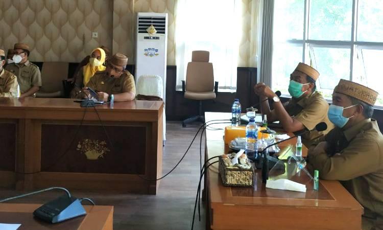 Pemprov Gorontalo Bahas Rencana Kunjungan Panglima TNI dan Kapolri