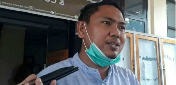 Sambangi Kantor KPU Kabgor, Wahyudin M. Akili : Tidak Ada Hubungannya Dugaan Pelanggaran Administrasi