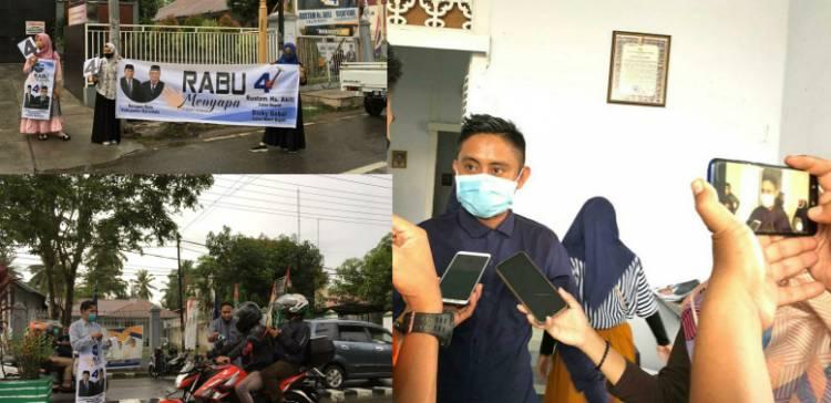Tim Millenial Rustam-Dicky Terus Bergerak, Jefri Polinggapo : Kami Memiliki Strategi Dan Program Yang Beda