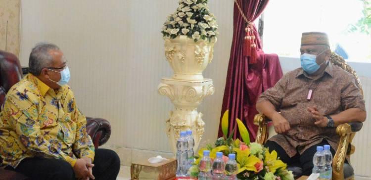 Pembangunan Kantor Bawaslu Gorontalo Medapat Dukungan Gubernur Gorontalo