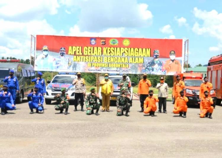 Gubernur Gorontalo Berkomitmen Bersama Kapolda dan Danrem Menertibkan illegal Logging