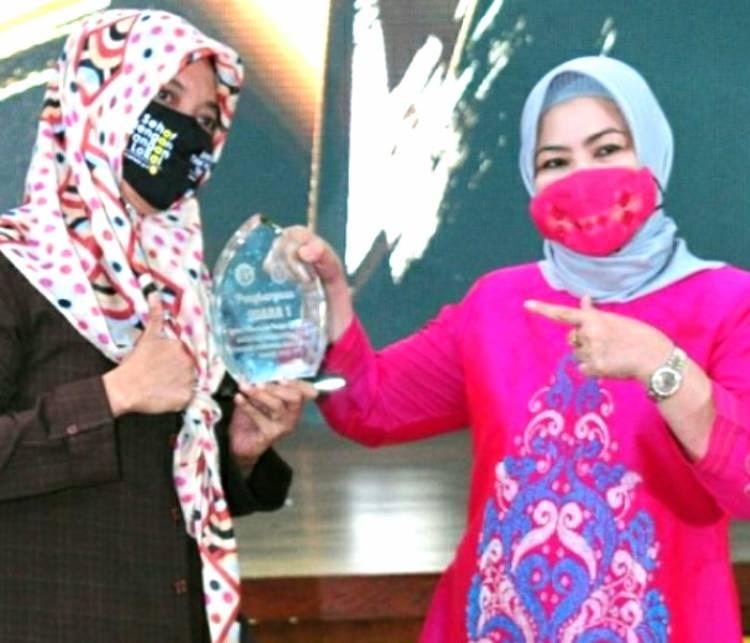 KWT Nurul Hidayah Meraih Juara Pertama