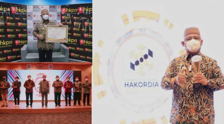 KPK Beri Penghargaan Terbaik LHKPN Untuk Gubernur Gorontalo