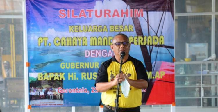 Rusli Habibie Bersama Istri Bernostalgia Dengan Karyawan CMP
