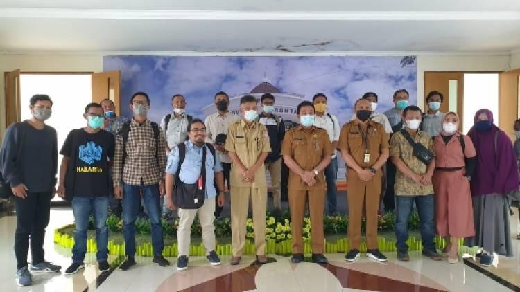 Sekretariat DPRD Provinsi Gorontalo Bangun Kesepahaman Dengan Awak Media