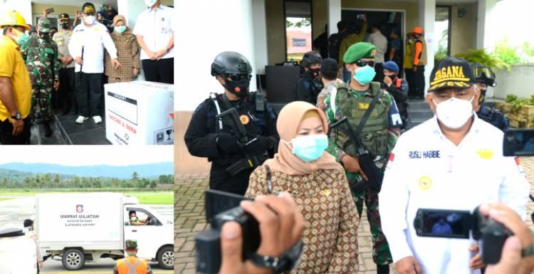 Rakyat Gorontalo Jangan Percaya Berita Bohong, RH : Ikuti Arahan Pemerintah Terkait Vaksin