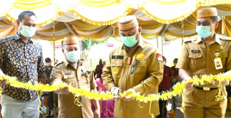 Sarpras SMK Dungaliyo Diresmikan, Gubernur Gorontalo : Wujudkan Sekolah Unggulan Disetiap Kecamatan