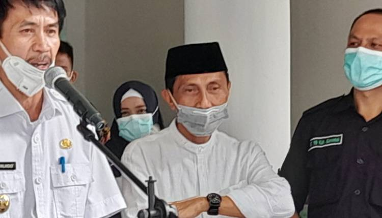 NP Batal Vaksinasi, Wabup Gorontalo : Ajak Rakyat Bersatu Lawan Covid 19