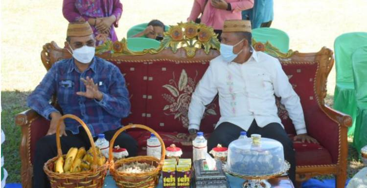 Anas Jusuf : Terimah kasih keluarga H.Jaenal Mape