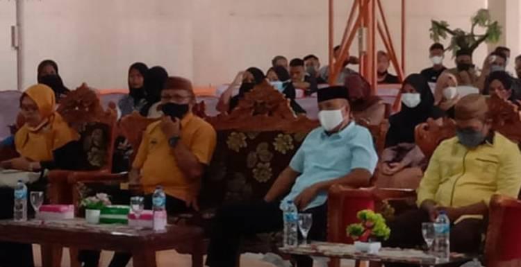 Lahmudin Resmikan Komunitas Angkatan 39 SMA Tilamuta