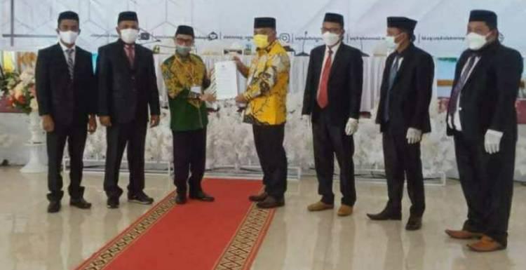 KPU: Nelson-Hendra, Bupati dan Wakil Bupati Gorontalo Terpilih