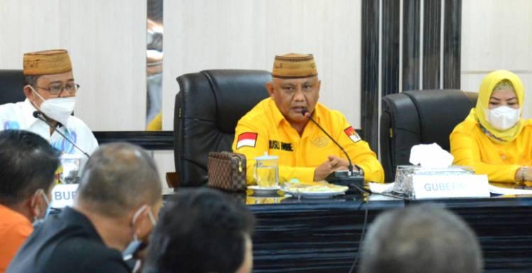 Gubernur Gorontalo Apresiasi Progres Vaksinasi di Gorut