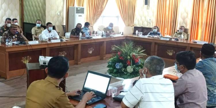 Forkopimda Gelar Rapat Bahas Keamanan Daerah