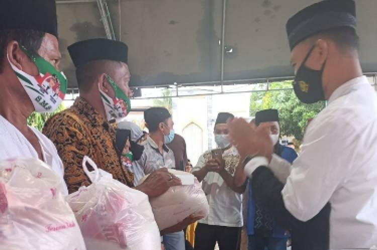 Dandim 1313/Pohuwato Bersama Forkopimda Safari Ramadhan di Randangan