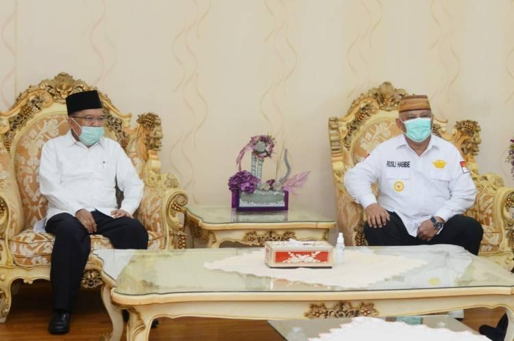 JK Kunjungi Gorontalo, Apa Kata RH?