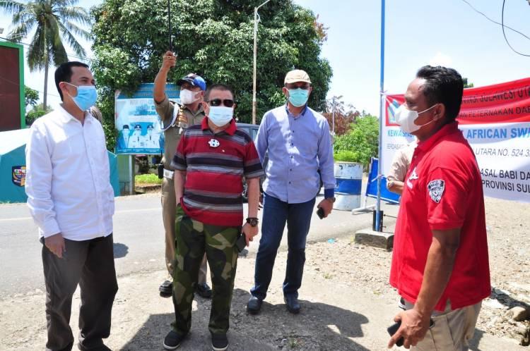 Dalam Penutupan Perbatasan, Wagub Gorontalo : Paling Penting Koordinasi