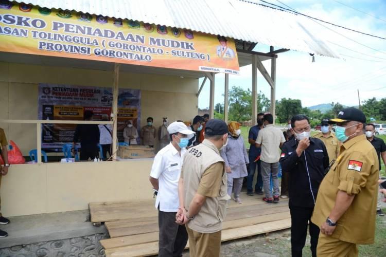"""""""Penutupan Perbatasan"""", Gubernur Gorontalo : Pemkab Gorut dan Buol Punya Kesamaan Persepsi"""