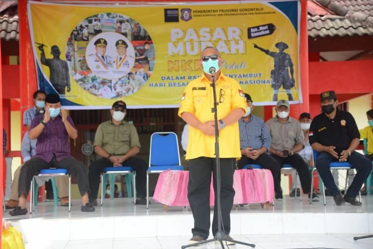 Guna Mencegah Penyebaran Covid 19, Gubernur Gorontalo : Minta Rakyat Sosialisasikan Larangan Mudik