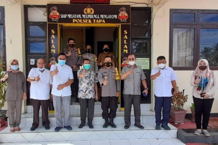 Komisi I Kunjungi Polsek Tapa, Monitoring Situasi Kamtibmas Jelang Idul Fitri