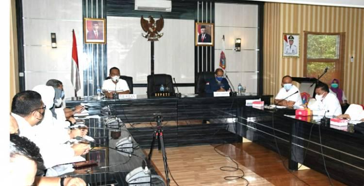 Sekda Gorut Buka Rapat Tindaklanjut Hasil Penilaian Ombudsmen Tentang Nilai Kepatuhan