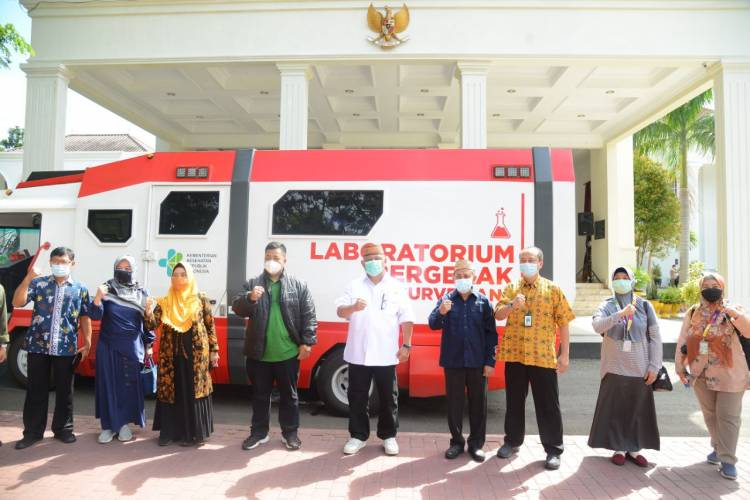 Mobil Laboratorium Seharga Rp6,5 Miliar, Gubernur Gorontalo : Terima Kasih Pak Menteri Kesehatan