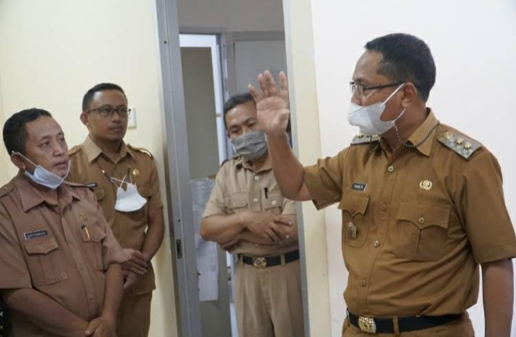 Wabup Thariq Modanggu Sidak ke Kantor Bappeda