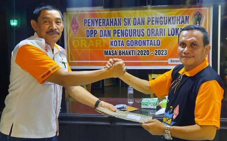 Ekhwan Ahmad Pimpin ORARI Kota Gorontalo