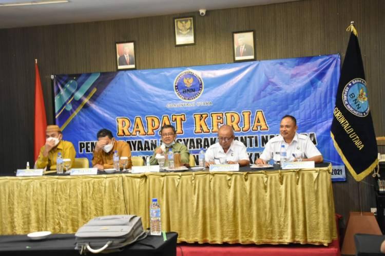 Indra Yasin Buka Raker Program Pemberdayaan Masyarakat Anti Narkoba