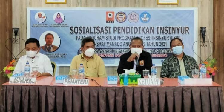 Sosialisasi Pendidikan Insinyur Dibuka Langsung Sekdaprov Gorontalo