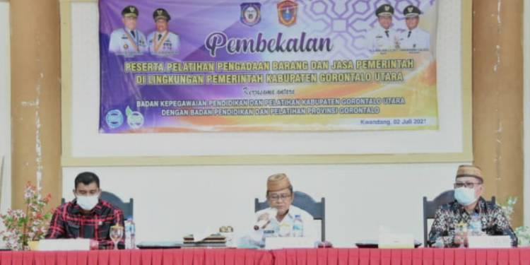 Indra Yasin Buka Pembekalan Pelatihan Pengadaan Barang dan Jasa Tingkat Dasar