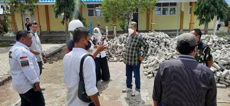 Komisi 3 Monitoring Renovasi dan Rehabilitasi Sejumlah SD dan SMP di Gorut