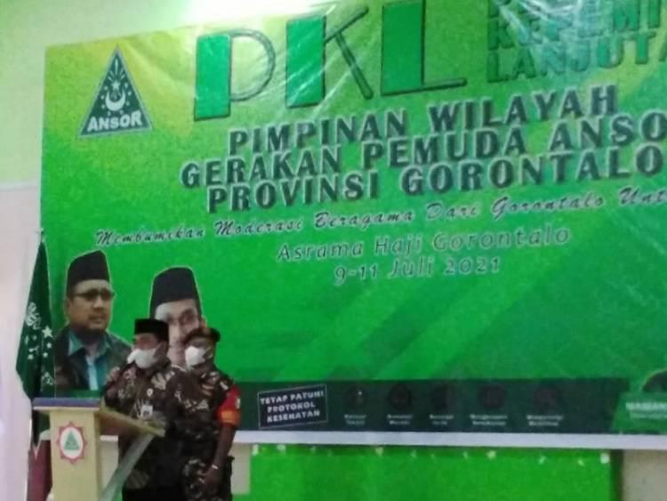 GP Ansor Provinsi Gorontalo Lakukan PKL 2021
