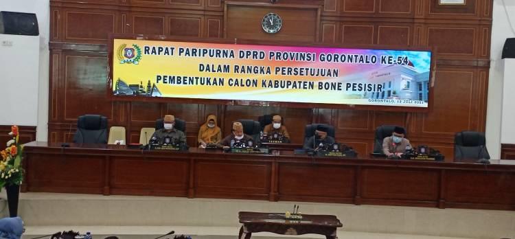 Deprov Gorontalo Setujui Pembentukan Kabupaten Bone Pesisir