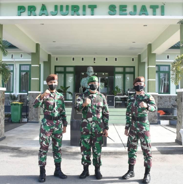 Danrem 133/NW Terima Kunjungan Dua Taruna Akmil Asal Gorontalo