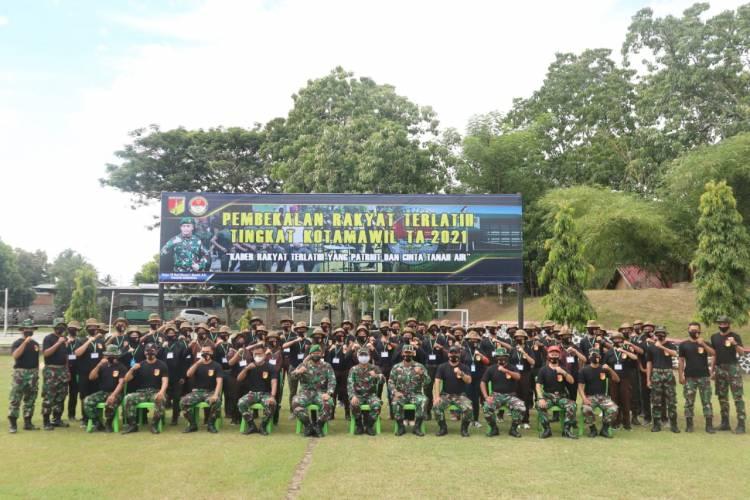 TNI AD Latih dan Bekali Generasi Muda Kemampuan Bela Negara