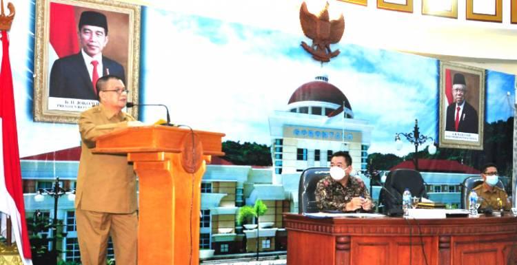 """""""Selama 12 hari"""", Itjen Kemendagri RI Lakukan Pengawasan Pada 14 OPD Gorontalo"""