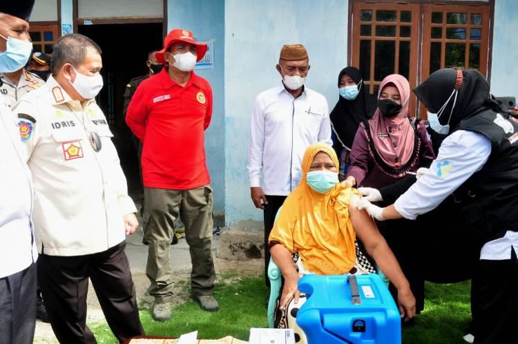 """Gebyar Vaksinasi"", Wagub Gorontalo : Memberi Apresiasi Upaya Kominda"