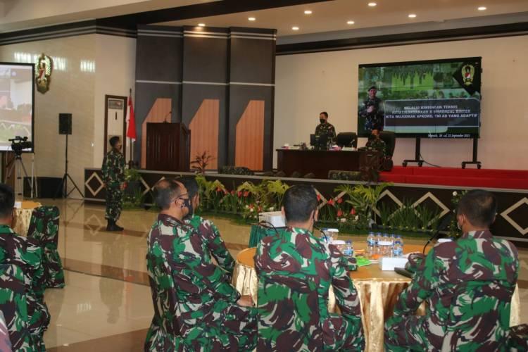 Binter Ketatalaksanaan dan Sisrendal Mampu Optimalkan Pembinaan Teritorial