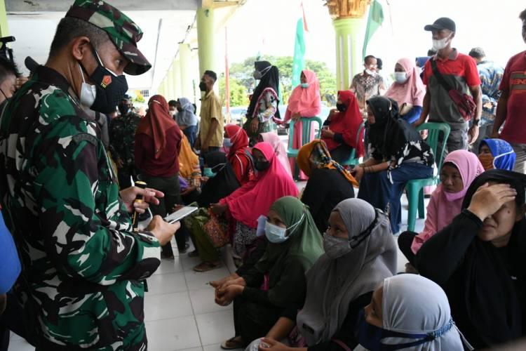 Danrem Dampingi Menteri Bappenas Kunker Ke Gorontalo Utara