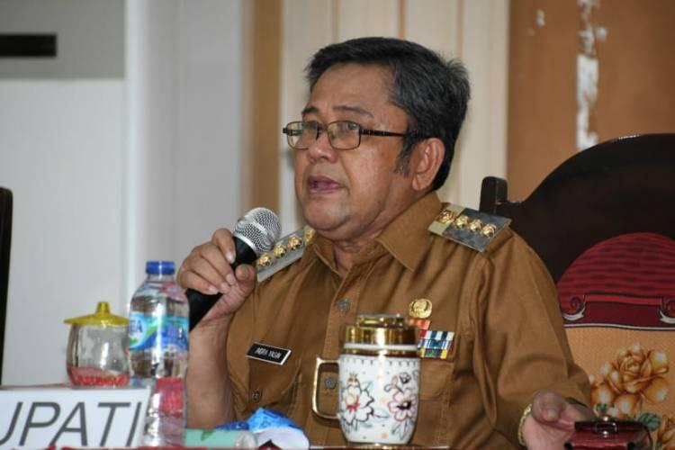 Bupati Indra Yasin: Pengeluaran Sertifikat Tanah Harus Jelas !